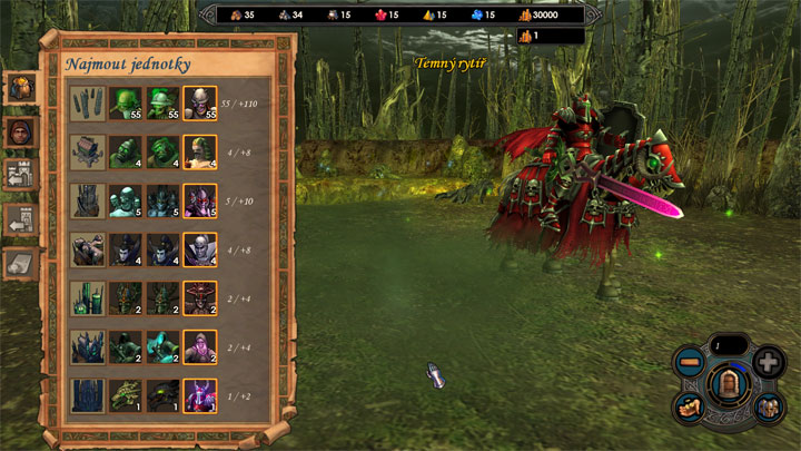 Heroes of Might and Magic V: Dzikie Hordy mod Heroes of Might And Magic V: ToE - Units and Combat Overhaul v.0.8