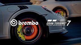 Gran Turismo 7 prezentacja układów hamulcowych Brembo