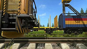 Farming Simulator 17 pociągi