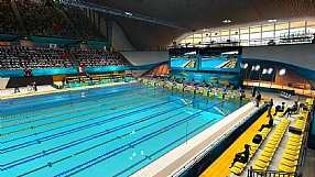 London 2012: The Official Video Game of the Olympic Games Aquatics Centre