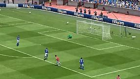 FIFA 13 strzały - mocny strzał
