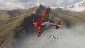 World of Warplanes manewry - szybka beczka (PL)