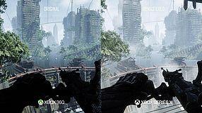 Crysis Remastered Trilogy porównanie graficzne X360 vs XSX