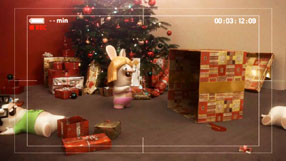 Raving Rabbids: Travel in Time Xmas Trailer #1