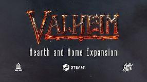 Valheim zwiastun aktualizacji Hearth and Home