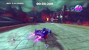 Sonic & All-Stars Racing Transformed speed run trailer