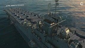 World of Warships dziennik dewelopera - lotniskowce (PL)