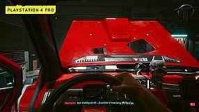 Cyberpunk 2077 gameplay z PS4 Pro/PS5