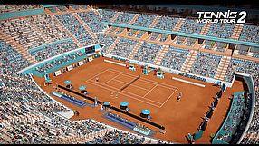 Tennis World Tour 2 zwiastun #1