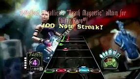 Guitar Hero III: Legends of Rock Metallica Death Magnetic Album