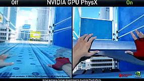 Mirror's Edge PhysX - porównanie