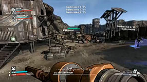 Borderlands gamescom 2009 - gameplay #1