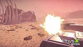 PlanetSide 2 PhysX trailer