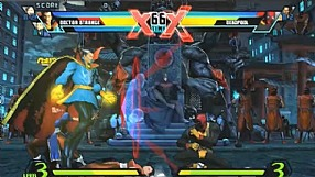 Ultimate Marvel vs. Capcom 3 gameplay #2