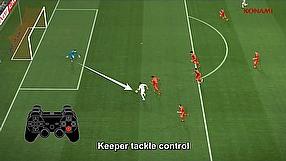 Pro Evolution Soccer 2014 tutorial #4 - sterowanie bramkarzem