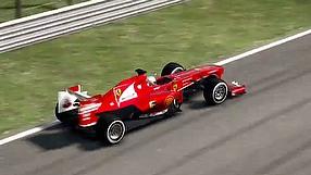 F1 2013 rozgrywka z komentarzem - hotlap Autodromo Nazionale di Monza