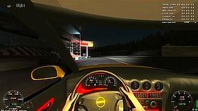 X Motor Racing wyścig nocą