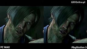 Resident Evil 6 porównanie ustawień graficznych PC vs PS3 vs Xbox 360
