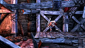 Splatterhouse gamescom 2010 - gameplay #2
