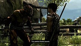 Arcania: Gothic 4 rozmowa z Orrukiem na wyspie Feshyr