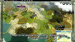 Sid Meier's Civilization V Video Walkthrough - wersja PL