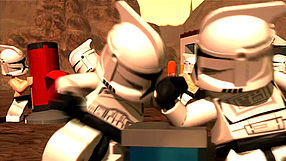LEGO Star Wars III: The Clone Wars Troopers Working Out