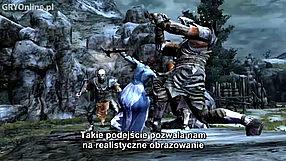 Władca Pierścieni: Wojna na Północy kulisy produkcji - walka (PL)
