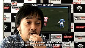 Pro Evolution Soccer 2012 kulisy produkcji - główny koncept (PL)