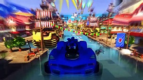 Sonic & All-Stars Racing Transformed GC 2012 trailer