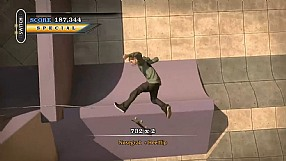 Tony Hawk's Pro Skater HD GC 2012 gameplay na powietrzu