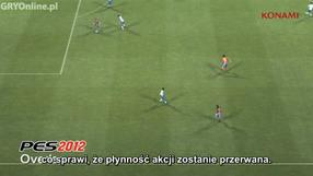Pro Evolution Soccer 2012 obieganie (PL)