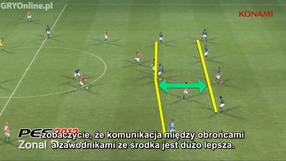 Pro Evolution Soccer 2012 obrona i formacje (PL)
