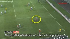 Pro Evolution Soccer 2012 kontrola bez piłki (PL)