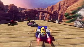 Sonic & All-Stars Racing Transformed WiiU trailer