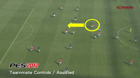 Pro Evolution Soccer 2012 Teammate Controls Assisted