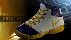 NBA 2K13 kulisy produkcji #6 buty (PL)