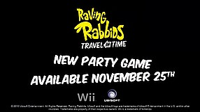 Raving Rabbids: Travel in Time Toilet Paper Race