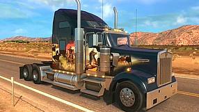American Truck Simulator W900 DLC