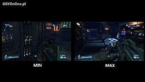 Aliens: Colonial Marines porównanie ustawień graficznych na PC