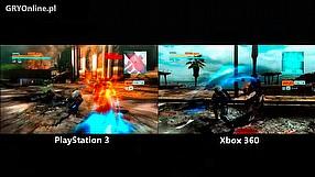 Metal Gear Rising: Revengeance porównanie graficzne PS3, Xbox 360