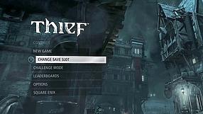 Thief kulisy produkcji - menu (PL)