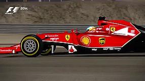 F1 2014 gamescom 2014 - gameplay - Bahrain hot lap