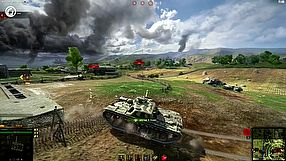 World of Tanks tryb Linia Frontu