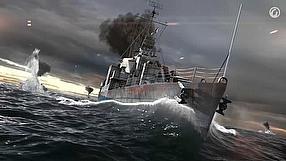 World of Warships dziennik dewelopera - okręty (PL)