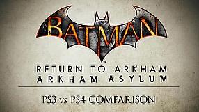 Batman: Return to Arkham porównanie wersji na PS3 i PS4