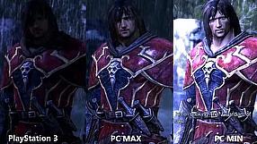 Castlevania: Lords of Shadow porównanie ustawień graficznych PC vs PS3