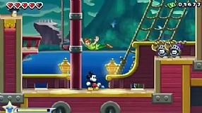 Epic Mickey: Power of Illusion E3 2012 gameplay