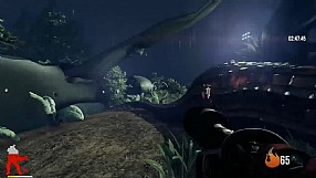 Primal Carnage gameplay - Pyromaniac i Carnotaurus
