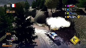 WRC Powerslide gameplay video #2 - Alsace