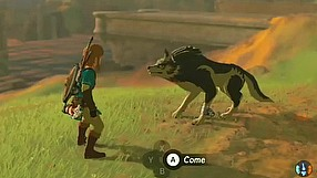 The Legend of Zelda: Breath of the Wild E3 2016 - wolf link amiibo trailer